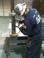 TSI Recertification Mag Particle Test