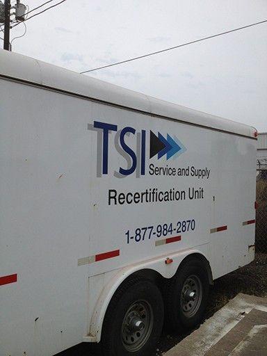 TSI Mobile Recertification Unit